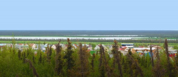 Inuvik Town Photo